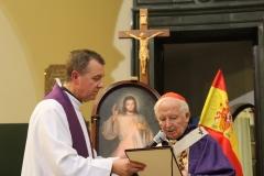 Arcybiskup Walencji Kardynał Antonio Cañizares ze specjalną wizytą w Polskiej Misji Katolickiej w Walencji